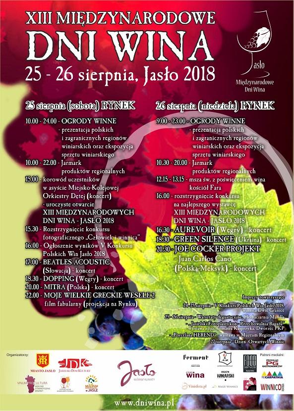 Międzynarodowe Dni Wina w Jaśle